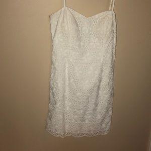 White Lily Pulitzer Dress